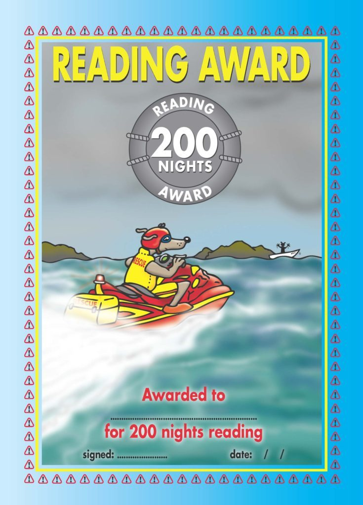 Green Reading Award 200 Nights