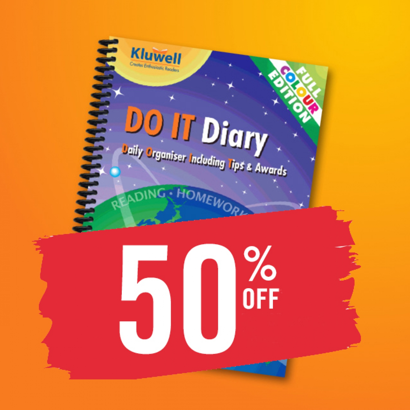 do-it-diary sale